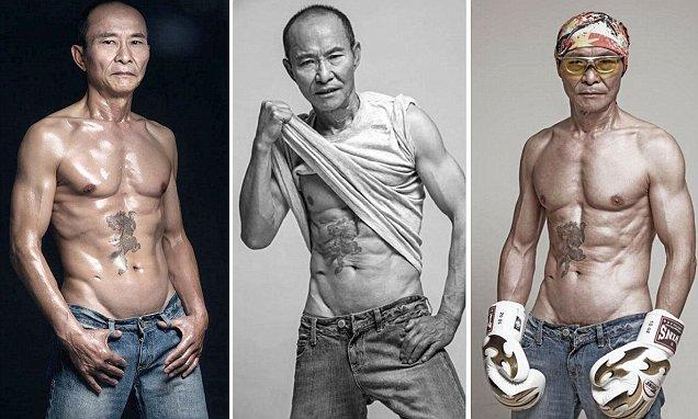 "NB: CEN_FitGranddad_01–10.jpg sent to pic desk. (starts) A Chinese granddad is putting his fellow countrymen to shame after showing off his eight-pack abs and professing his love for the great outdoors. The 61-year-old outdoorsman with oblique muscles cut from diamonds has been a regular gym-goer for at least 10 years and is also a huge fan of rallying and paragliding. Liang Yuxiang, known affectionately as ""Uncle Liang"", is proud to see photos of his incredible body being shown across the country, as it is proof of his philosophy – that the elderly should have dreams too. The native of Chengdu, capital of south-west China's Sichuan Province, worked in rubber and clothing factories during his youth and also took a job in his father's clothing factory, until he finally started his own business in 1991. His company, which produces lamps and lights, has been operating smoothly ever since. So smoothly, in fact, that it caused something of a midlife crisis in his late 40s. Around the year 2000, Liang's friend persuaded him to go on a long-distance road trip overseas. The friend also talked him into going to the gym in order to stay fit enough for any future journeys. He added: ""The only dieting principle I follow is that we should only fill our stomachs up to about 70 percent. ""Other than that I eat whatever I want because I believe the body's cravings are its way of telling us what we're lacking – and I particularly love eating meat."" Liang regularly took his family on road trips across Europe and the United States, but even those holidays eventually lost their thrill. The decision came after he and his son visited the Dakar Rally – also known as the ""Death Rally"" – tracks in South America in 2012. Liang said: ""When I saw people at the rally in their 50s and 60s, I knew they weren't racers. But I knew they all dreamt of racing."