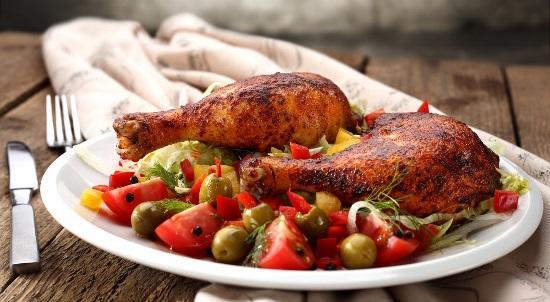Pollo-con-verdure